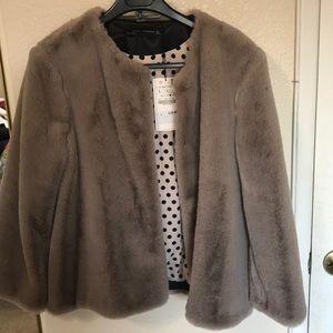 Zara fur brand new with tags